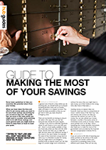 Making the most of your savings