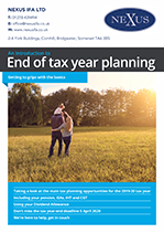 End of Year Tax Guide