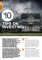 Tips on Investing in tough times